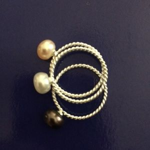 Jewelry - Pearl Stack Ring Set